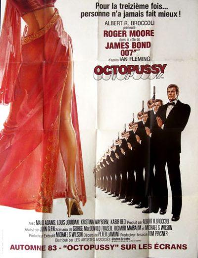 octopussy affiche advance 120x160_2