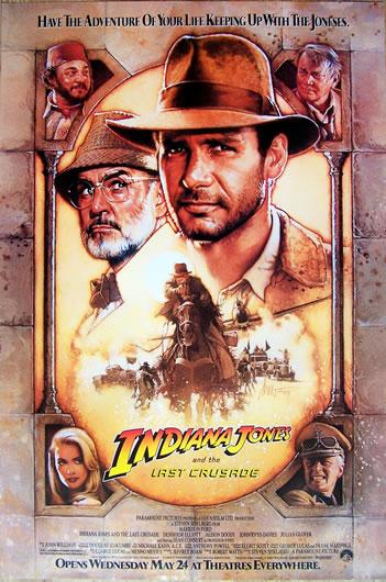 indiana jones and the last cruisade US 1 sheet_2