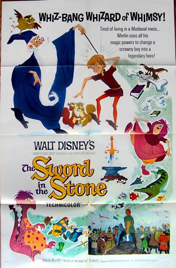 sword in the stone US 1 sheet_2