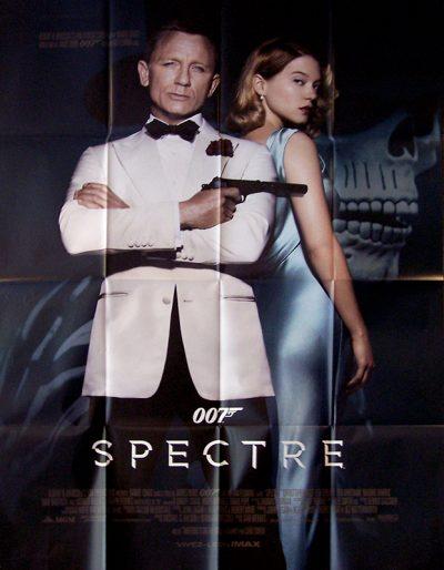 L'affiche du film James Bond