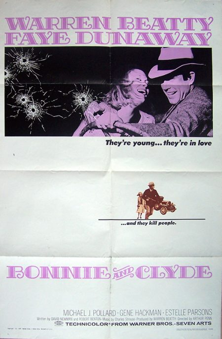 bonnie and clyde US 1 sheetok