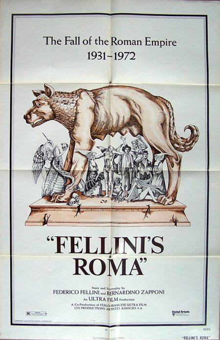 fellini roma US 1 sheetok