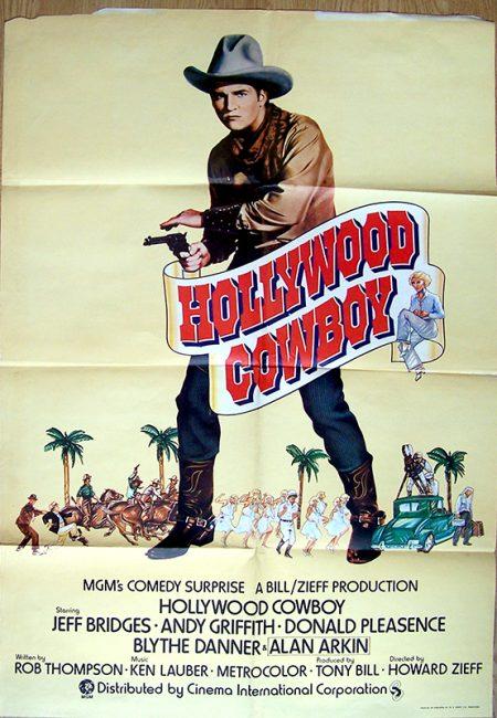 hollywood cowboy US 1 sheetok