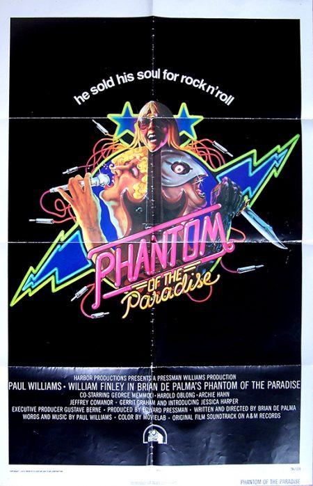 phantom of the paradise US 1 sheetok