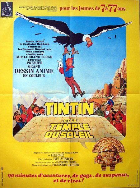 tintin et le temple du soleil 60x80ok