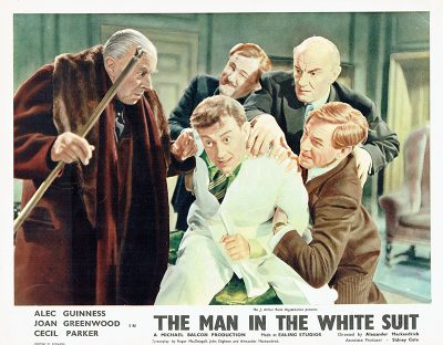 the man in the white suit british lobby card 1ok